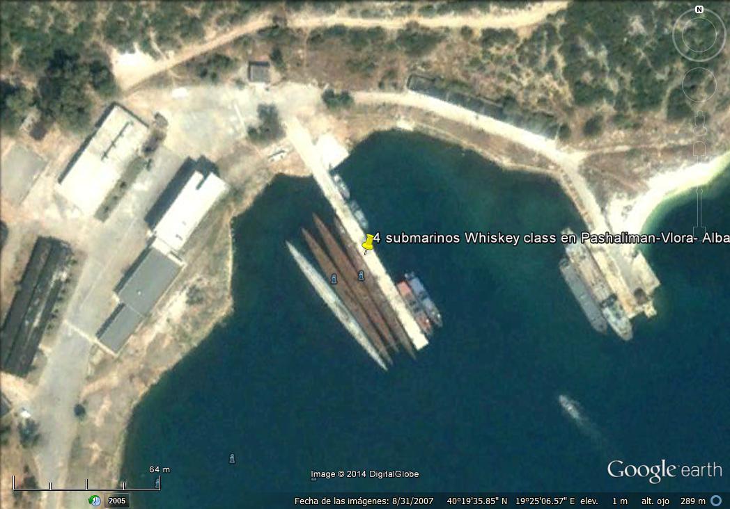 4 submarinos whiskey class en pashaliman-vlora- albania.jpg