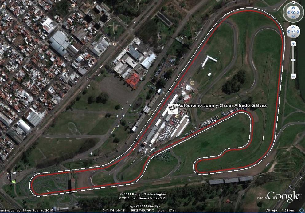 Circuito Galvez : Opiniones de autódromo oscar y juan gálvez