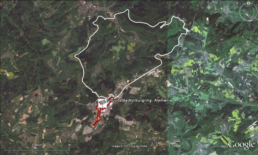 Circuito Nurburgring : Circuito de nürburgring alemania en google maps