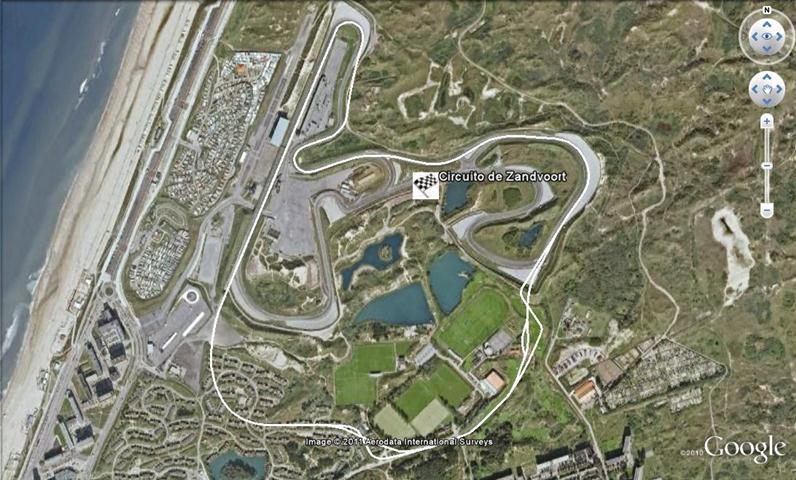 Circuito Zandvoort : Circuit park zandvoort holanda circuitos de formula
