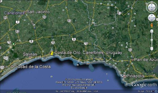 Costa de oro canelones uruguay google maps 56740 - Fotos de canalones ...