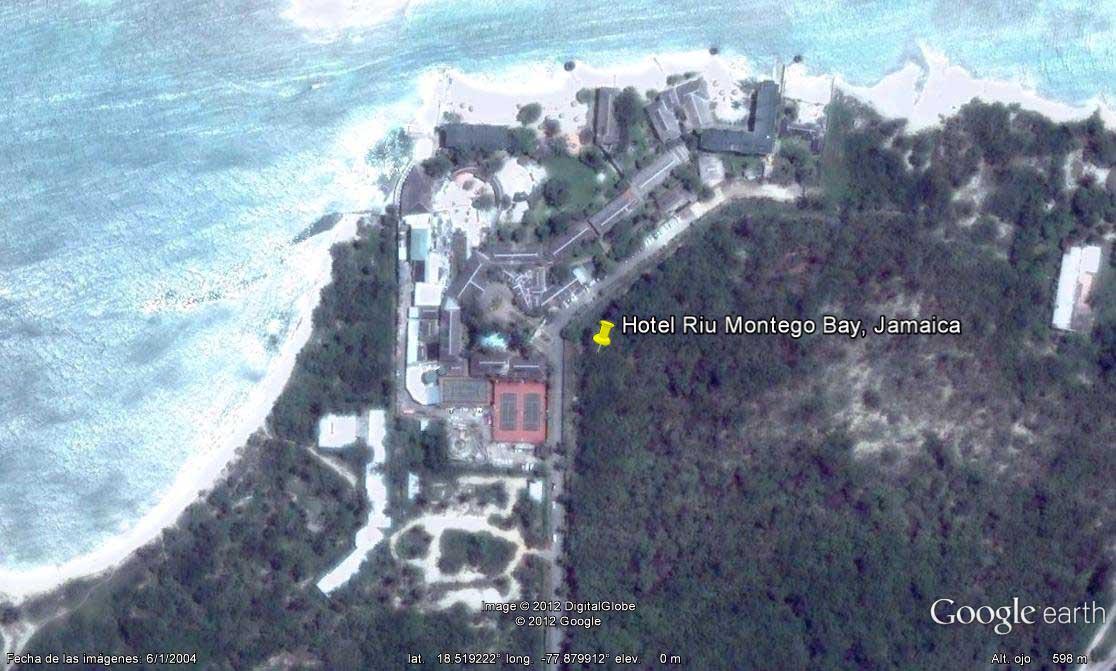 Hotel riu montego bay jamaica en google maps google earth hotel riu montego bay jamaicag gumiabroncs Images
