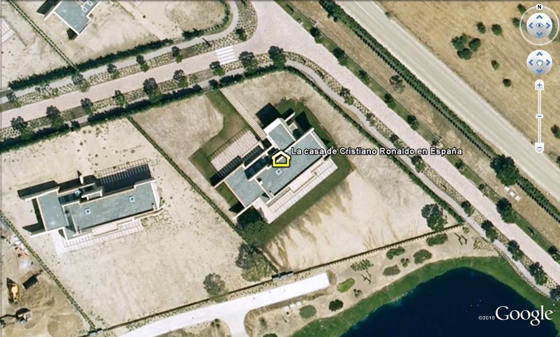 La casa de cristiano ronaldo en espa a en google maps - Fotos de la casa de cristiano ronaldo ...