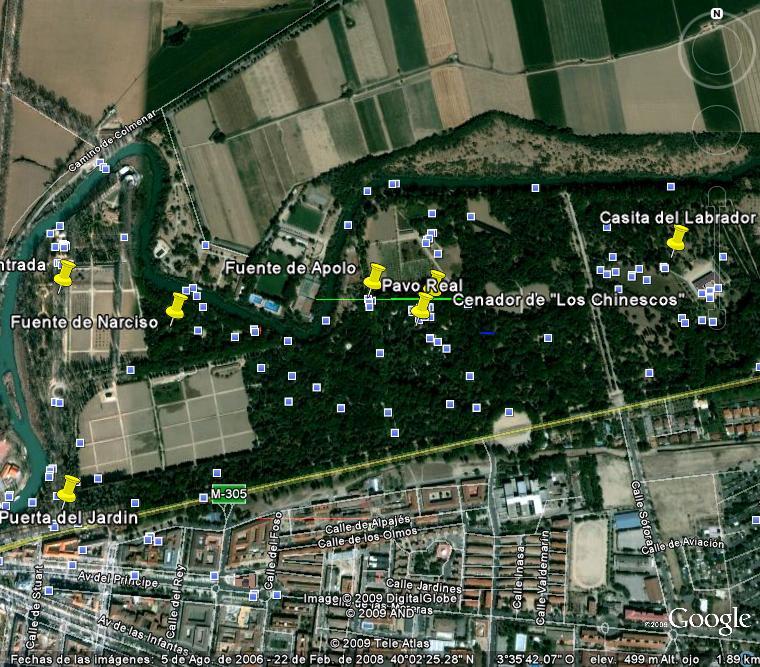 Paseo fotografico por el jardin del principe en aranjuez en google maps 576 google - Jardin del principe aranjuez ...