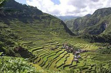 terrazas de arroz de banaue la cordillera filipinas