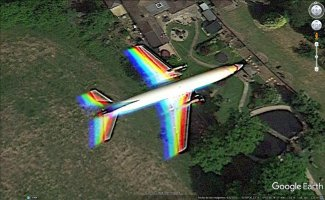 avion arcoiris sobre londres.jpg