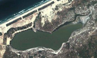 Lago Rosa o Lac Retba y el Rally Dakar