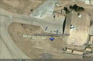 UAV USA en la base de Balad - Irak